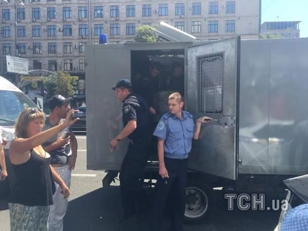 В Киеве полиция освободила кафе