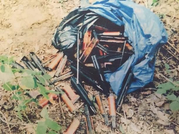 В Киеве обнаружили остатки винтовки, из которой стреляли по