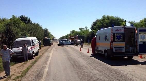 В ДТП на трассе Одесса-Рени пострадал 21 человек