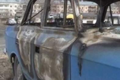 За последние сутки в Киеве сгорели два автомобиля