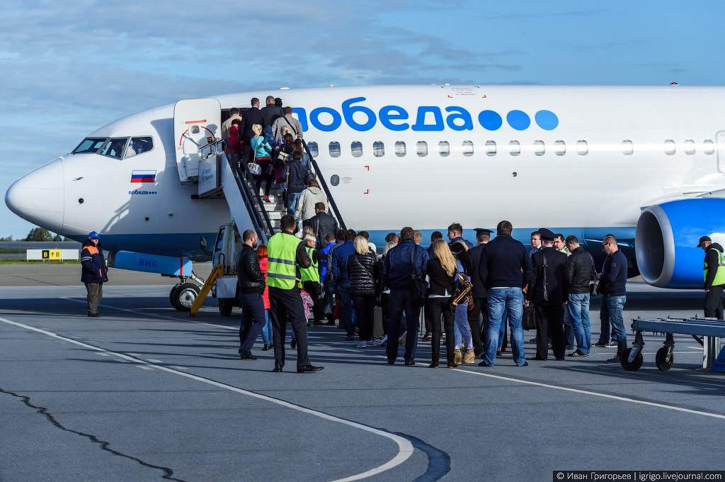 Опоздавший на самолёт «Победы» житель Урала неудачно остановил его сообщением о бомбе