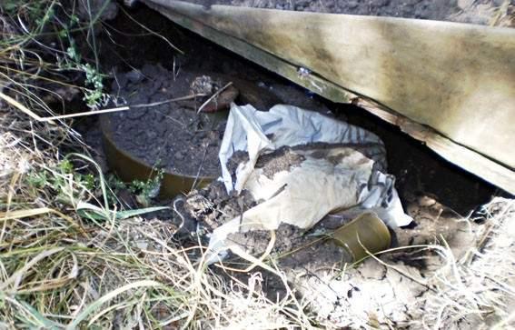 В зоне АТО обнаружен тайник боеприпасов