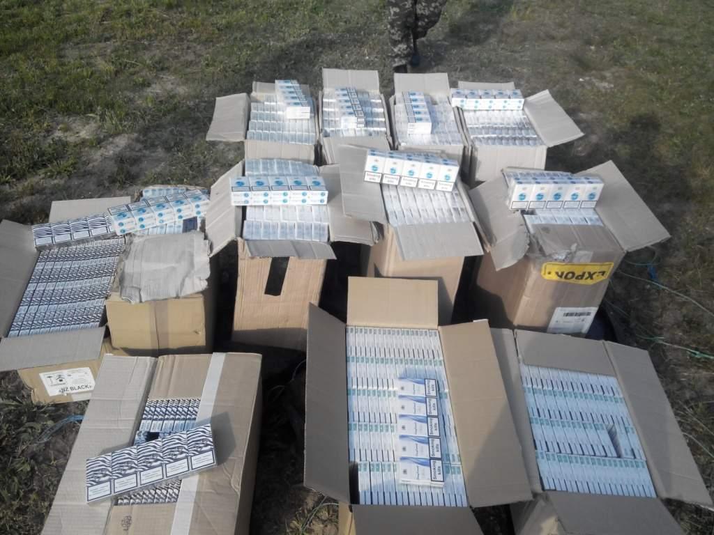 В Одессе была обнаружена контрабанда сигарет