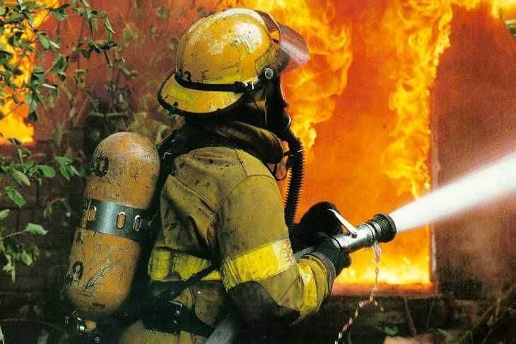 В Черниговской области произошло возгорание на военном полигоне