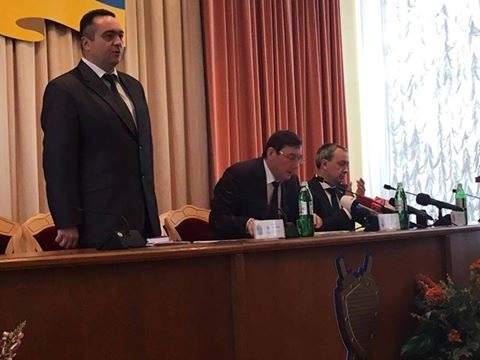 Луценко представил нового прокурора Ровно