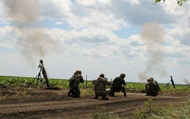 Вблизи Донецка отмечено увеличение количества обстрелов