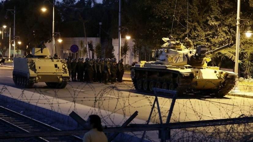 В Турции число арестованных военных превысило полторы тысячи