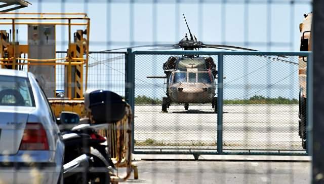 Греция передала Турции угнанный мятежниками вертолет