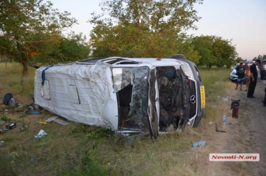 Смертельное ДТП Одесса-Николаев. Обезглавленная женщина и 16 пострадавших