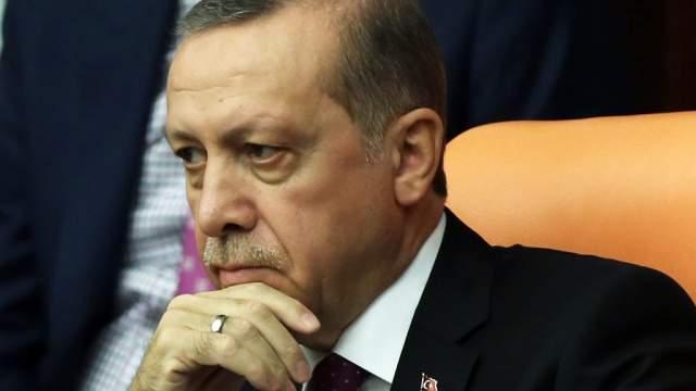 Военный советник Эрдогана задержан