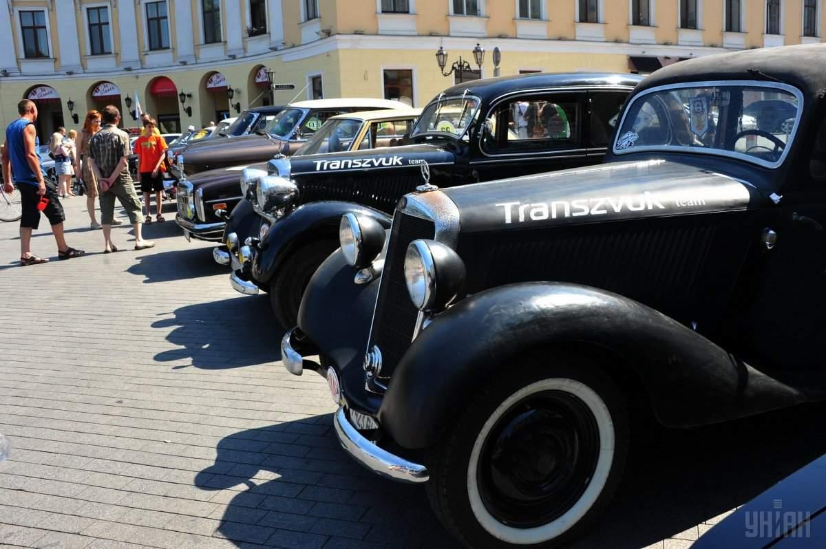 В Одессе прошла ретро выставка