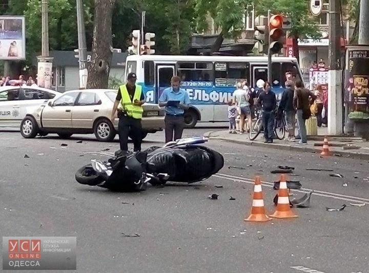 В Одессе в результате крупной аварии есть пострадавшие