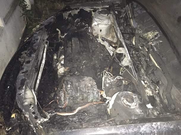 Неизвестные сожгли авто депутата Ровенского горсовета