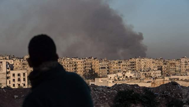 В результате авиаудара по Алеппо погибли мирные жители