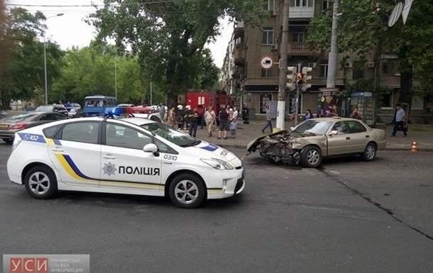 В результате ДТП в Одессе пострадала супруга участника комик-группы