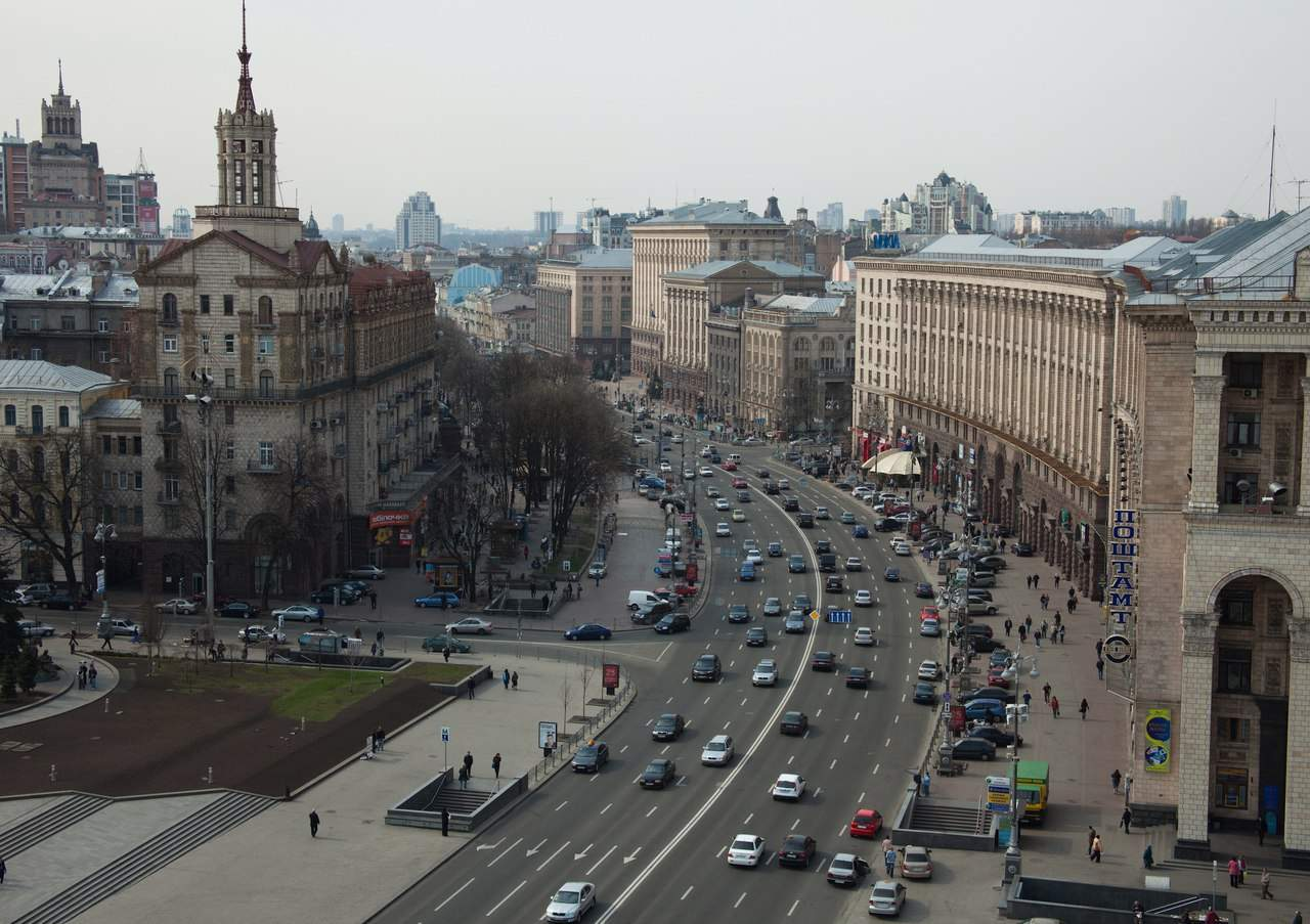 В столице на Крещатике до 10 августа ограничат движение