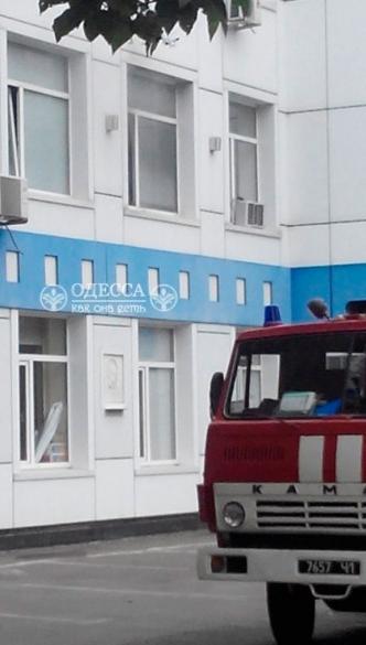 На Одесской киностудии произошел пожар