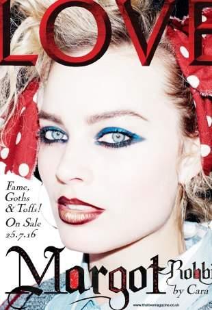 Кара Делевинь и Марго Робби снялись для обложки журнала Love