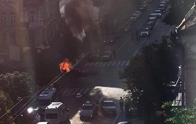 После взрыва Шеремет ещё был жив