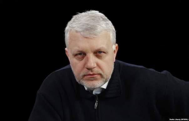 В сети появилось жуткое видео с места убийства Павла Шеремета
