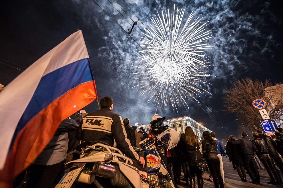 В Крыму запретили запускать салюты