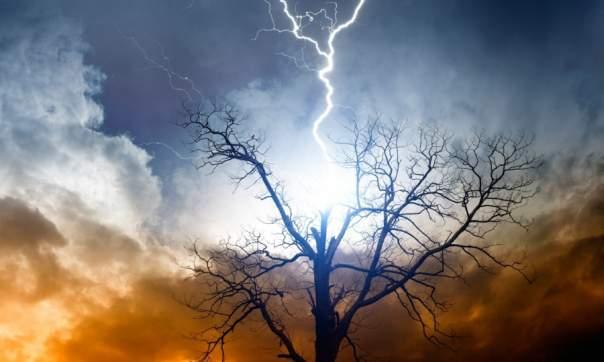 В Харьковской области молния стала причиной 3 пожаров