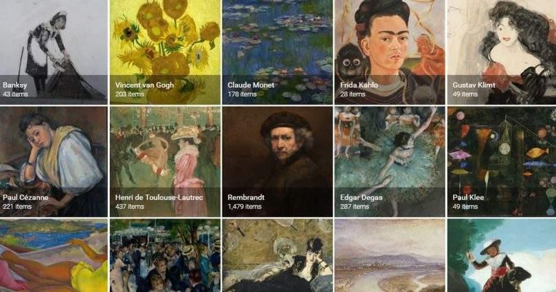 Google поможет изучать историю, культуру и искусство