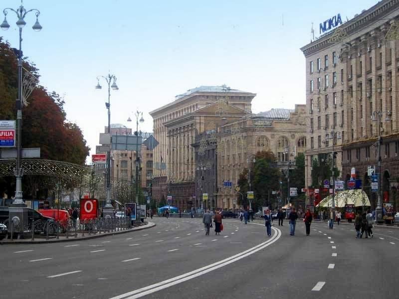 В субботу ограничат движение в центре Киева в связи с проводами сборной Украины на Рио