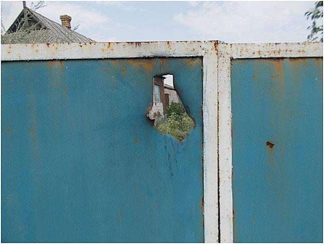 Обстрел окраин Авдеевки. Повреждены жилые дома и линии электропередач