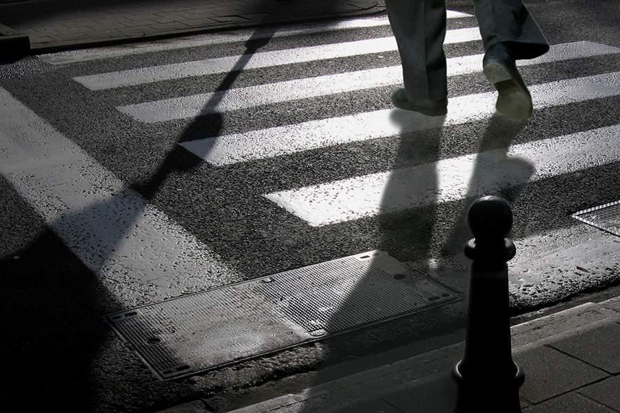 В столице внедорожник сбил пешехода
