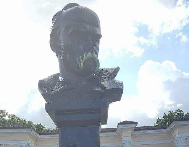 В Симферополе Тарас Шевченко