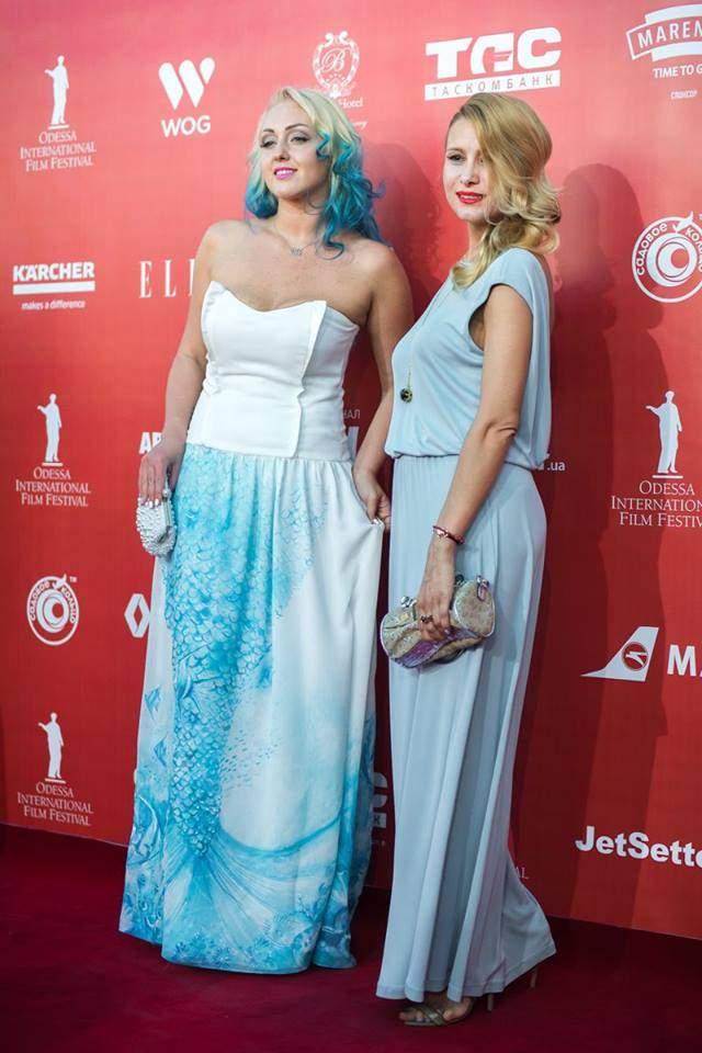 Гостей Одесского кинофестиваля высмеяли за нелепый внешний вид