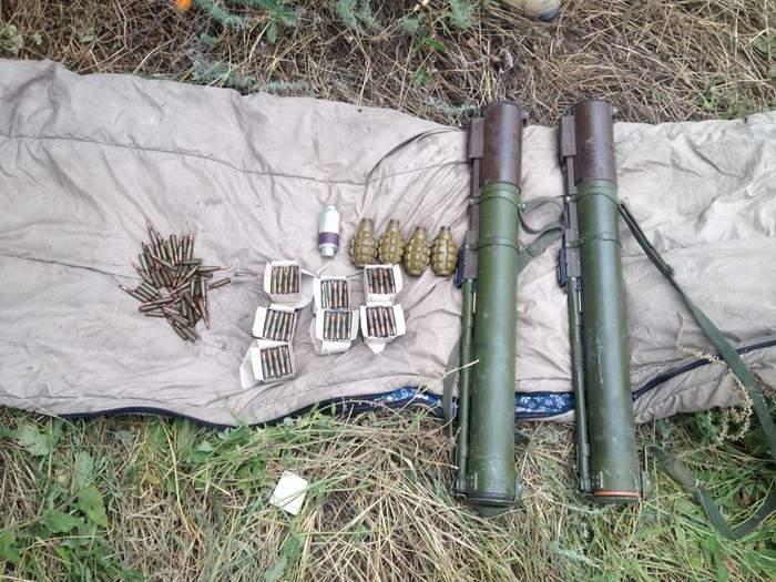 В Донецкой области обнаружен тайник с боеприпасами