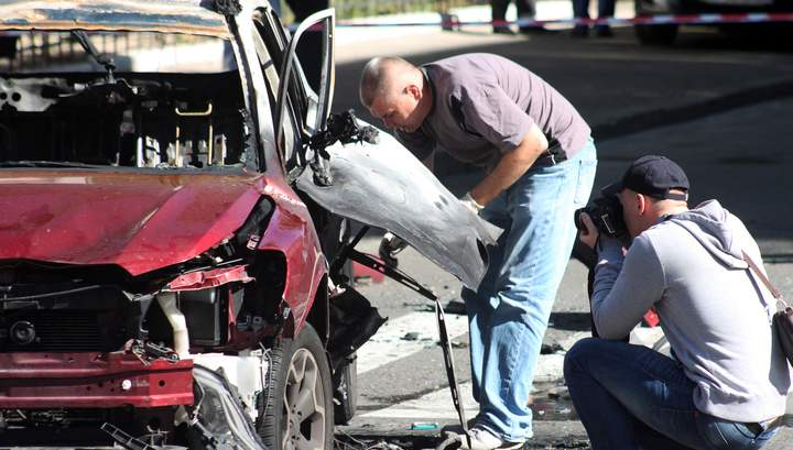 Взрывное устройство под автомобиль, в котором погиб Шеремет, заложила женщина