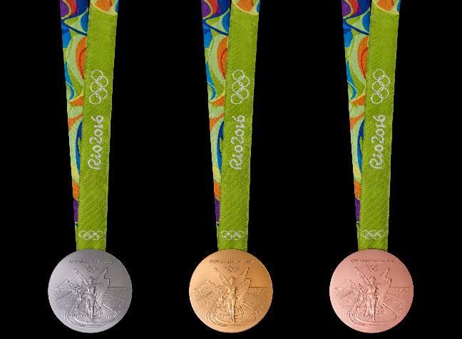 НОК определил размер денежных премий для медалистов в Рио