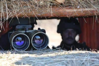 В зоне АТО трое военных получили ожоги сетчатки глаз из-за лазера