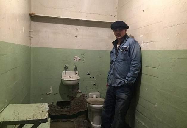 Джонни Депп побывал в тюрьме Алькатрас