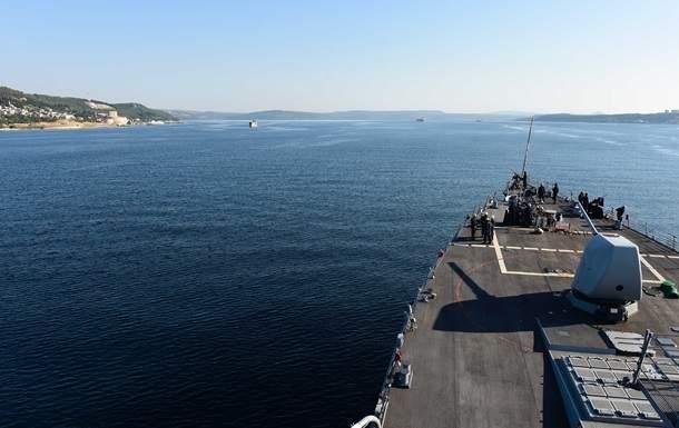 В акваторию Черного моря вошел ракетный эсминец ВМС США
