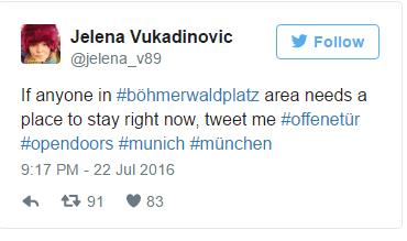 Жители Мюнхена организовали флешмоб