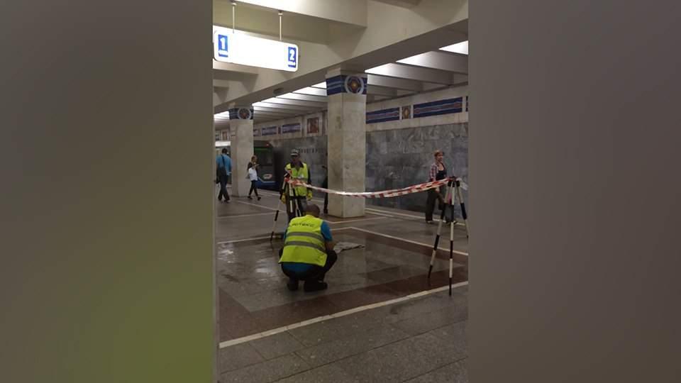 В результате ливня центр Москвы практически парализован