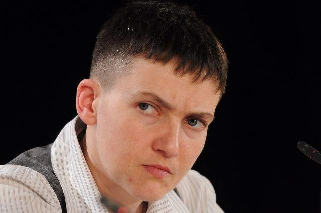 Савченко обратилась к лидерам ЛДНР
