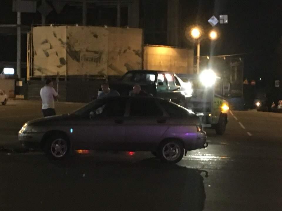 Ночное ДТП в Харькове