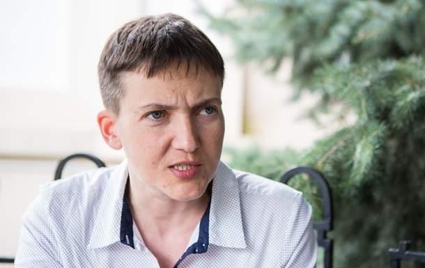 Савченко не исключает необходимости периода диктатуры в Украине