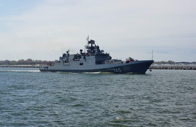 У берегов Латвии замечен военный корабль РФ