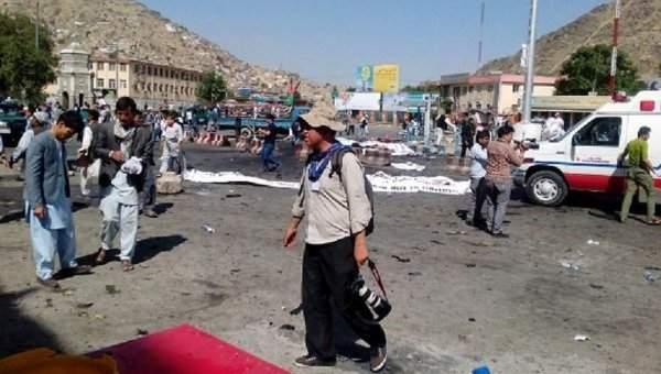 В Кабуле число погибших повысилось до 80 человек