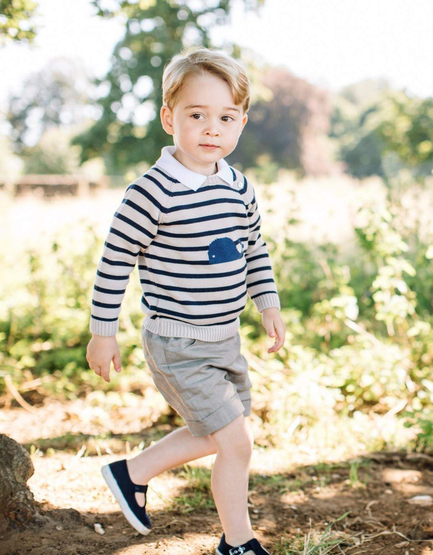 Обнародованы новые фото маленького принца Джорджа