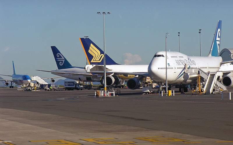 В Новой Зеландии срочно эвакуировали аэропорт