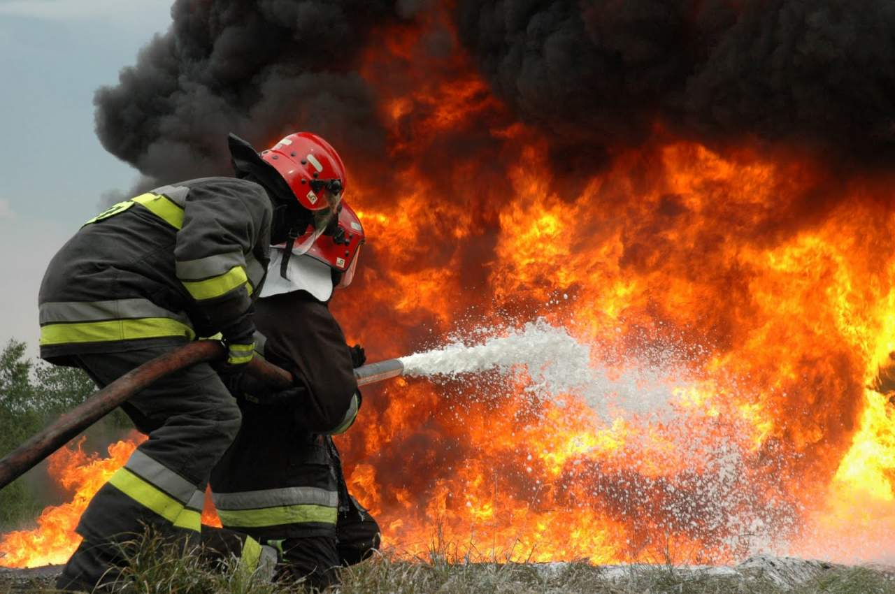 В России был потушен масштабный пожар