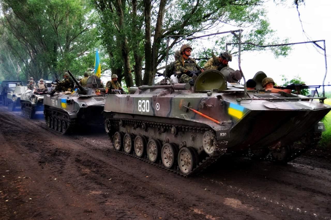 Украинские войска пытались прорваться на подконтрольную территорию