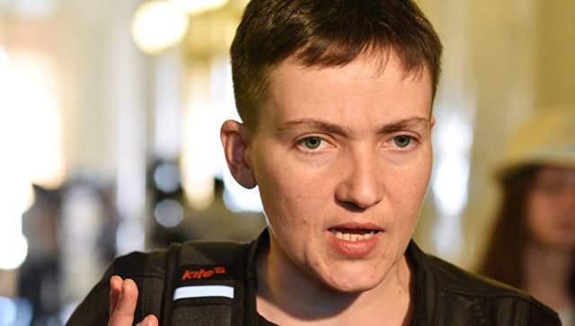 В сети появилось видео попытки нападения на Савченко в Одессе
